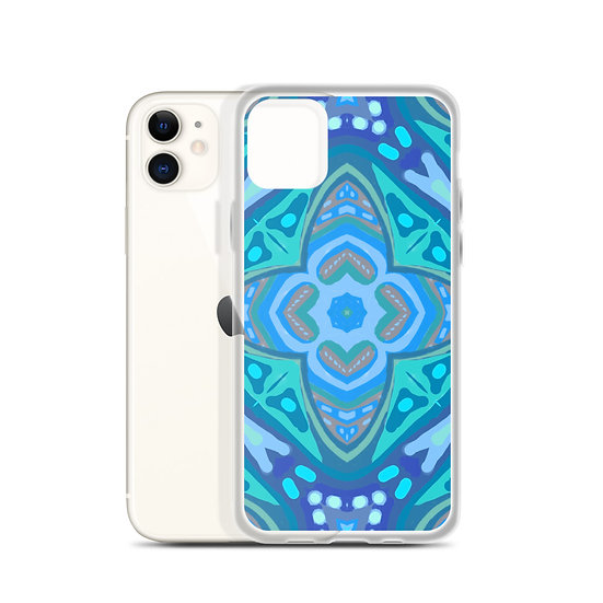 iPhone Case Blue One