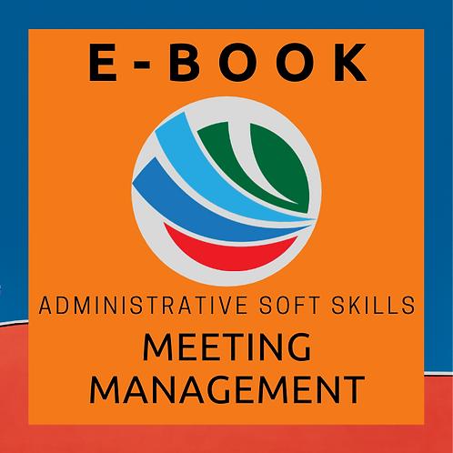 Meeting Management E-Book