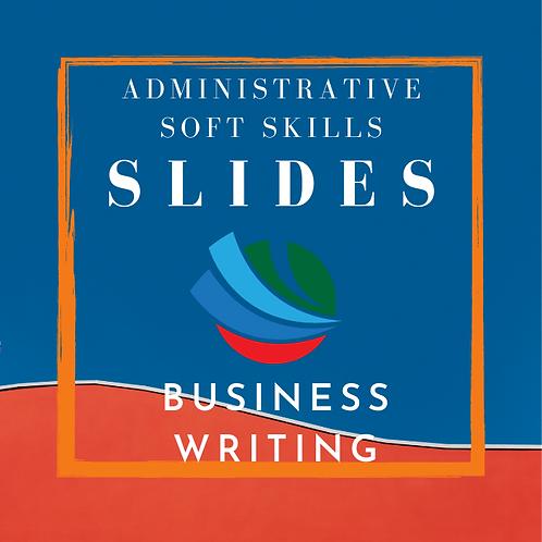 Business Writing Training Slides