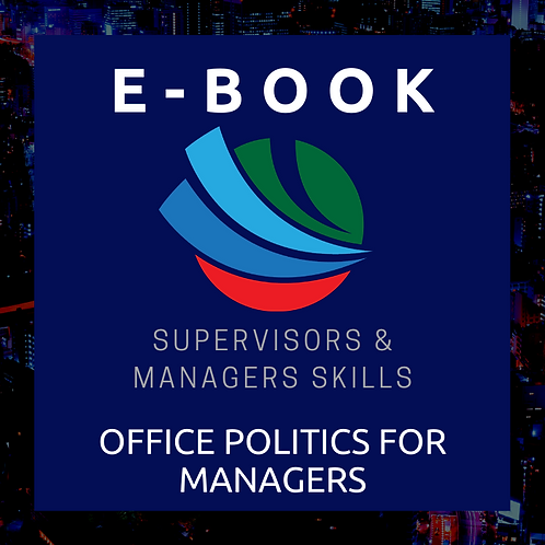 Office Politics for Managers E-Book