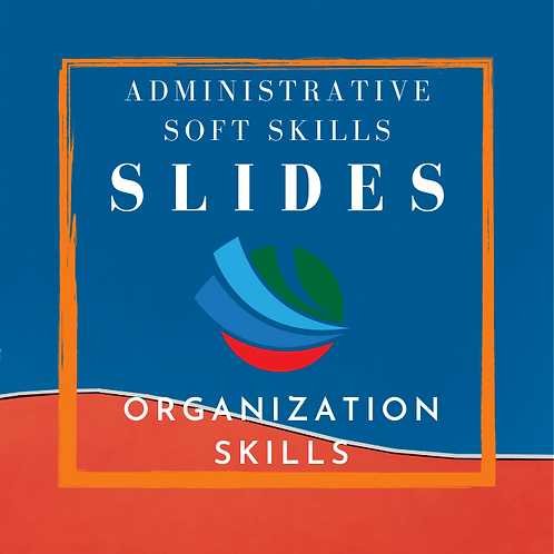 Organizational Skills Training Slides