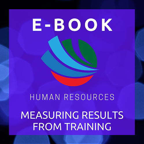 Measuring Results From Training E-Book