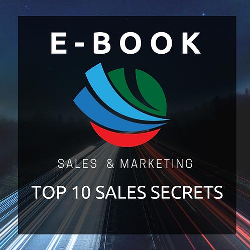 Top 10 Sales Secrets E-Book