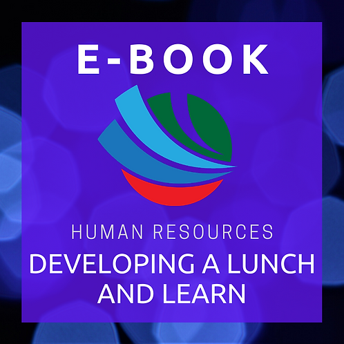 Developing a Lunch-and-Learn E-Book