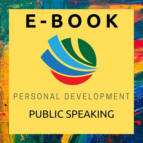 Public Speaking E-Book