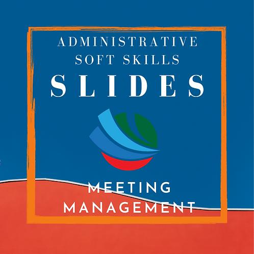 Meeting Management Training Slides