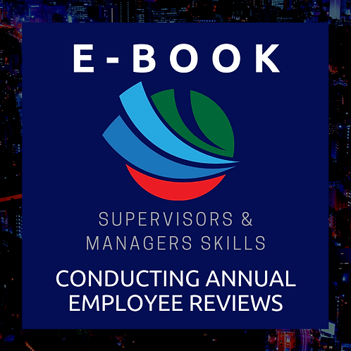 Conducting Annual Employee Reviews E-Book