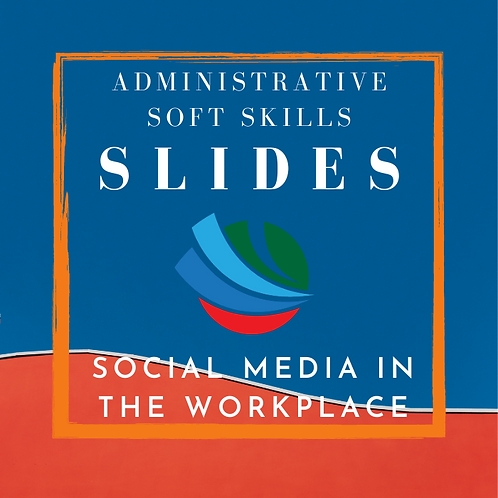 Social Media in the Workplace Training Slides