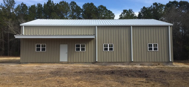 Exterior Steel Residential Structure