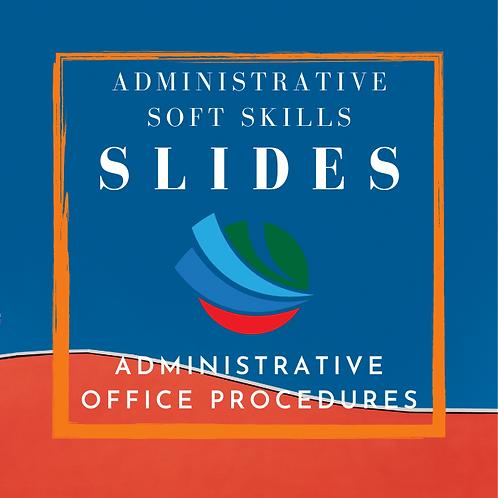 Administrative Office Procedures Training Slides