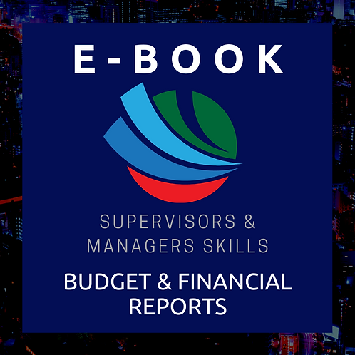 Budgets and Financial Reports E-Book