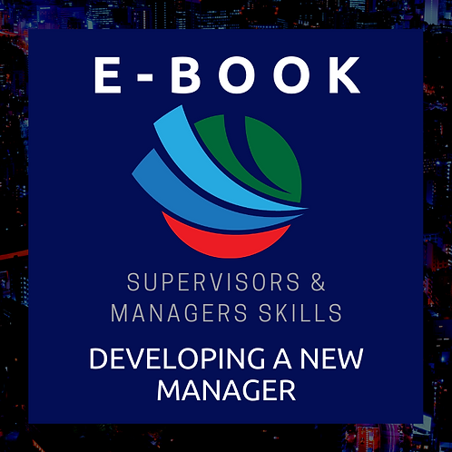 Developing a New Manager E-Book