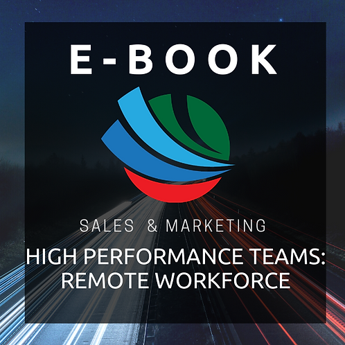 High Performance Teams - Remote Workforce E-Book