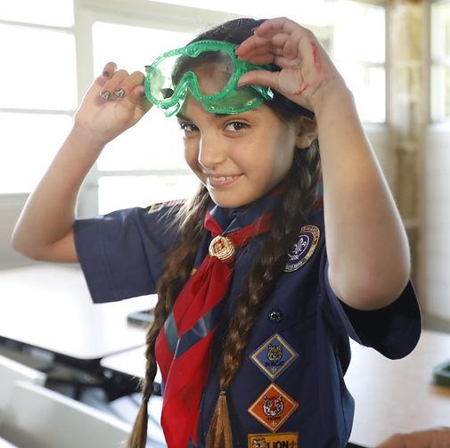 girl cub scout uniform