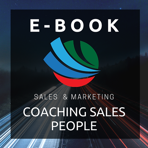 Coaching Sales People E-Book