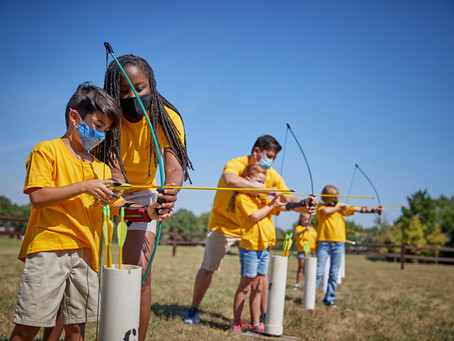 Cub Scouts Shooting Sports Day at Camp Durant