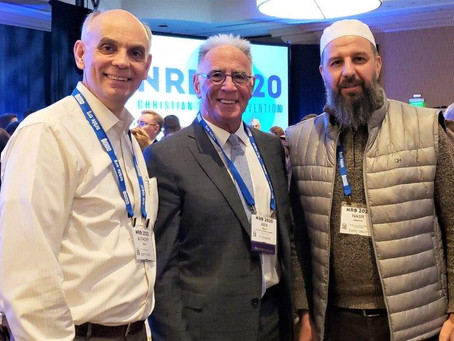 Muslim Sheikh Attends Christian NRB Convention
