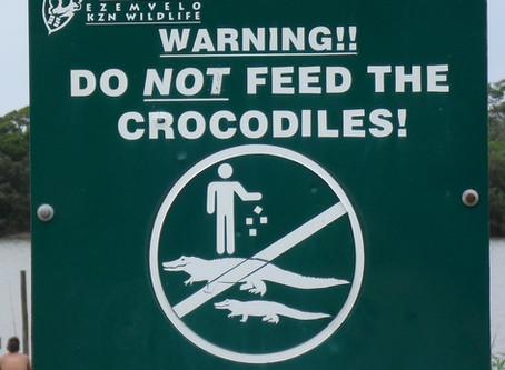 Time To Stop Feeding The Crocodiles