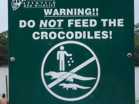 Time To Stop Feeding The Crocodiles