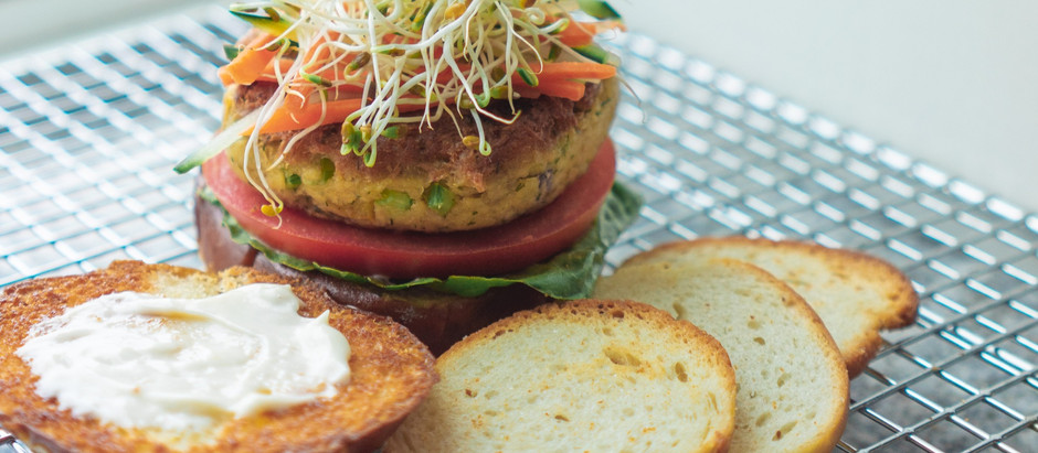 Asian Inspired Tuna Burgers