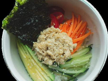 Vegan Tuna Bibimbap