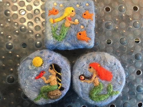 Mermaid Scrubby
