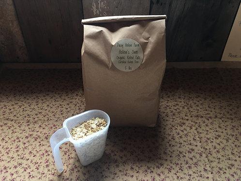 Organic Rolled Oats : 5 lb