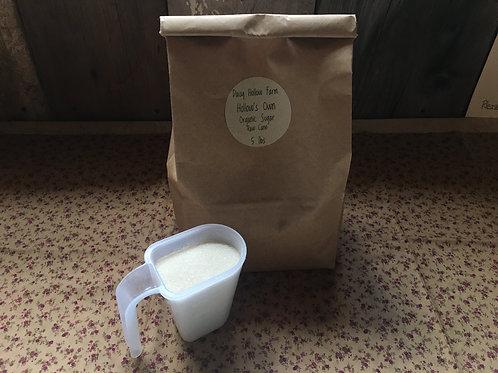 Organic Raw Cane Sugar : 5 lb
