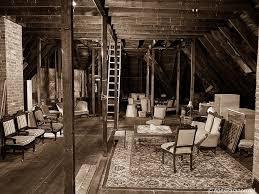 The haunted attic