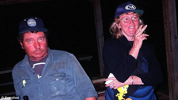 John Price (left) and Katherine Knight (