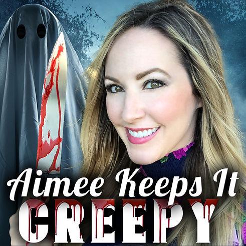 Bloody Aimee Keeps It Creepy Cover Art.J