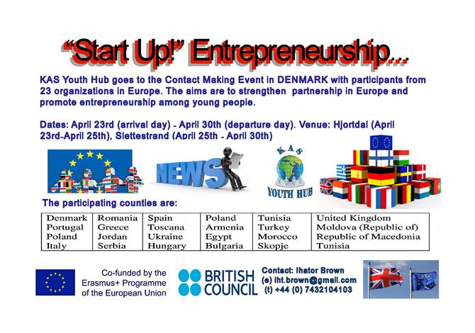 """""""Start Up!"""" Entrepreneurship"""