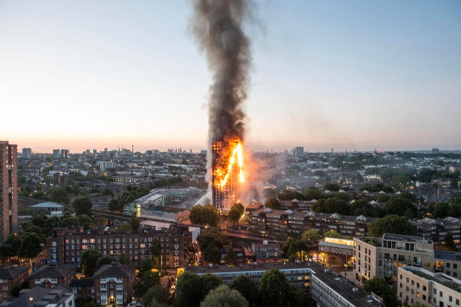 'Kiwanis UK Appeal - Raising £10,000 to help the victims of the Grenfell Tower fire'.