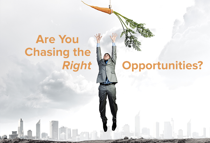 """""""Chasing for the opportunities."""""""