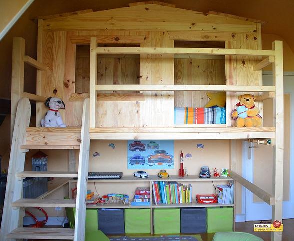L\'EnfantDo Création - Lit Cabane et mobilier de chambre pour ...