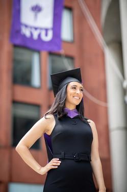 Celena NYU Masters Graduation