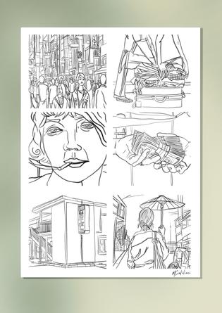 Comic Line ART