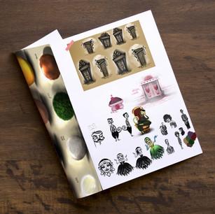 Concept Sketchbook Samples