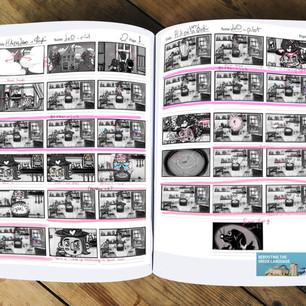 Animated Kid Songs- Series Storyboard Sample