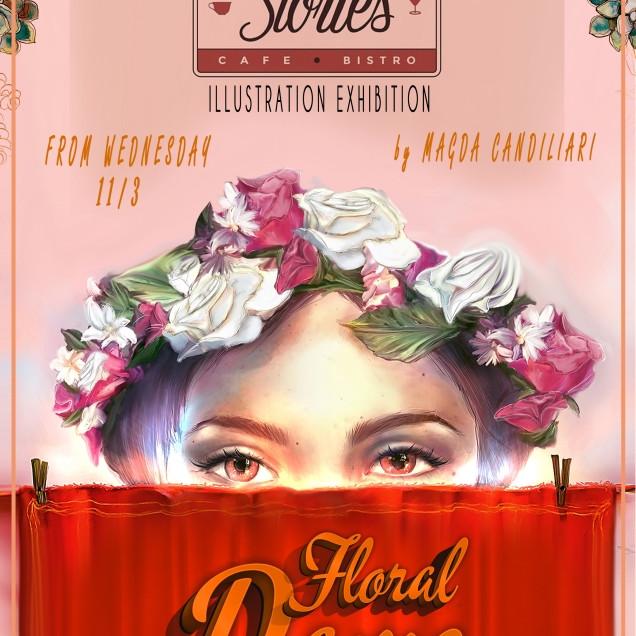 Floral Dame | Illustration Exhibition