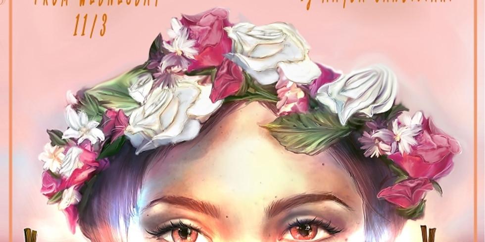 Floral Dame   Illustration Exhibition