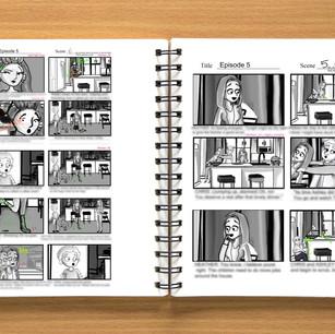 Web series/ kid sitcom sample