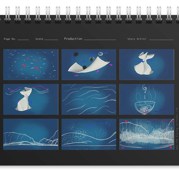 Music Video Storyboard Sample