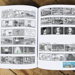 Animated Web Series Storyboard Sample