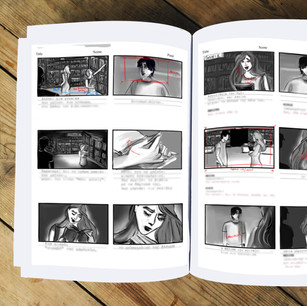 Live Action Feature Film Storyboard Sample