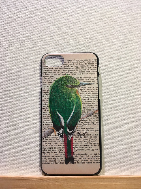 Iphone 7&8 - hardcover - vuurstaartje