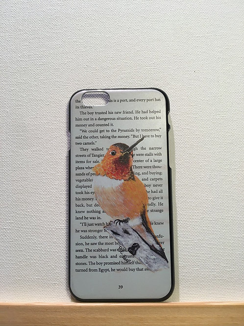 Hardcover - kolibri (oranje)