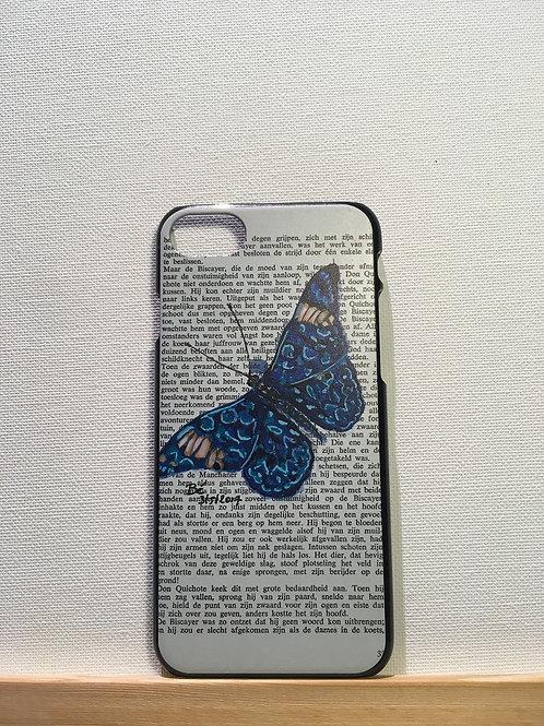Iphone 7 & 8 - hardcover - vlinder