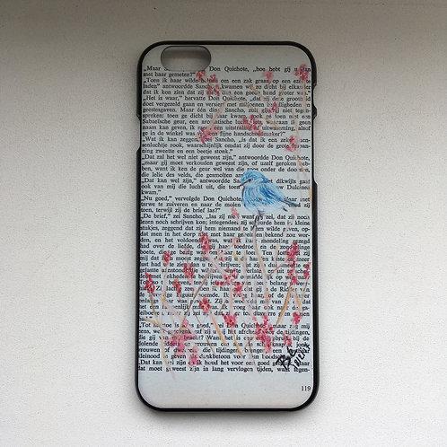 Iphone 6 & 6S - hardcover - Little bluebird