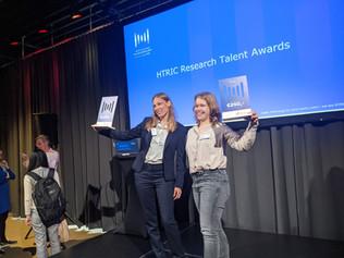 The diamond team wins BOTH HTRIC talent awards